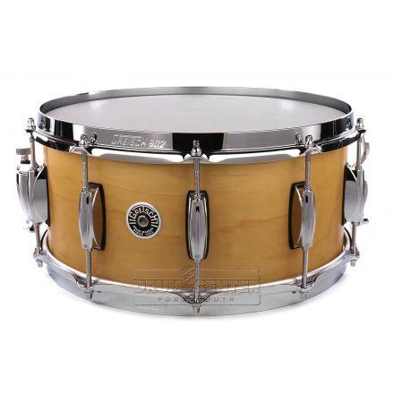 Gretsch Brooklyn Snare Drum 14x6.5 10-Lug Satin Millennium Maple