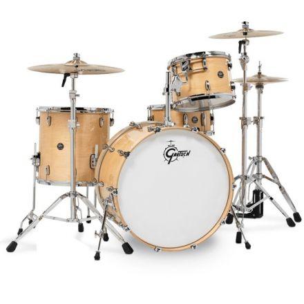 Gretsch Renown Drum Set : 3pc 18/12/14 Gloss Natural