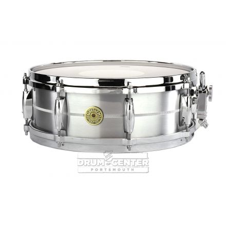 Gretsch Solid Aluminum Snare Drum 14x5 With 8 lugs