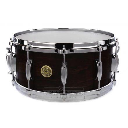 Gretsch USA Custom Snare Drum 14x6.5 10-Lug Satin Antique Maple