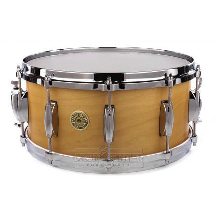 Gretsch USA Custom Snare Drum 14x6.5 10-Lug Satin Millennium Maple