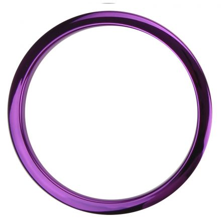 "Bass Drum O's Bass Drum Port 6"" Purple Chrome"
