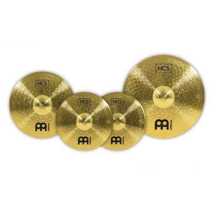 Meinl HCS Cymbal Set, 14H/16C/20R