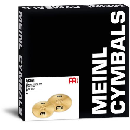 Meinl HCS Cymbal Set, 14H/16C