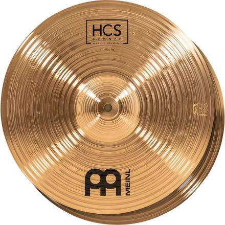 Meinl HCS Bronze Hi Hat Cymbals 13