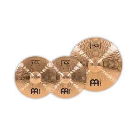 Meinl HCS Bronze Basic Cymbal Set