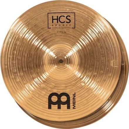 Meinl HCS Bronze Hi Hat Cymbals 15