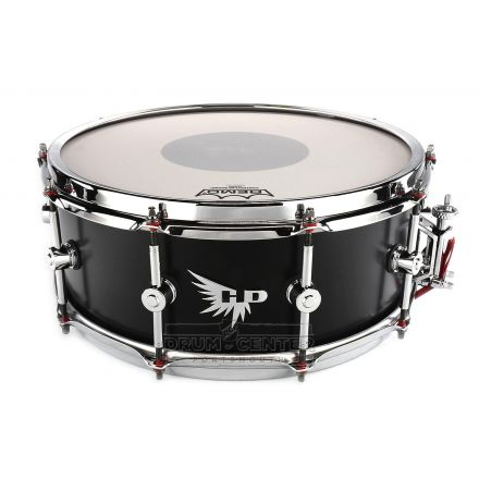 Hendrix Players Stave Series Snare Drum 14x5.5 Maple Satin Black