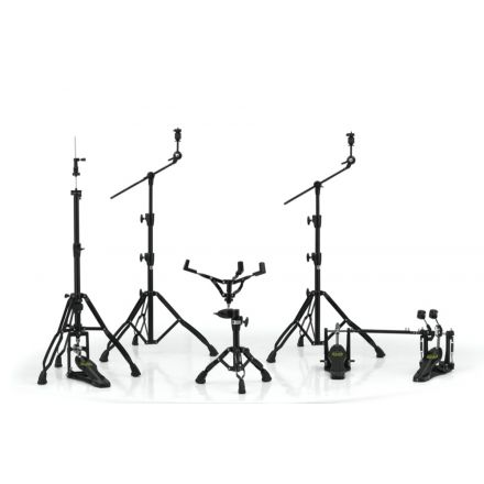 Mapex Armory Hardware Pack Black Plated w/ P800TW Double Pedal