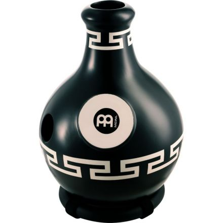 Meinl Fiberglass Tri Sound Ibo Drum with Synthetic Head Large Black Ornament