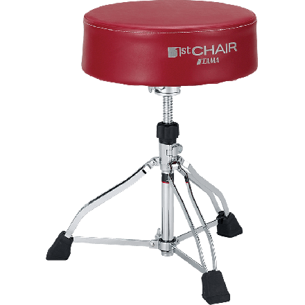 Tama 1st Chair Round Rider XL Drum Throne With Red seat