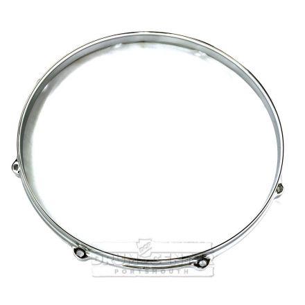 """Ludwig Die Cast Drum Hoop 14"""" 8-Lug Batter Side Chrome"""