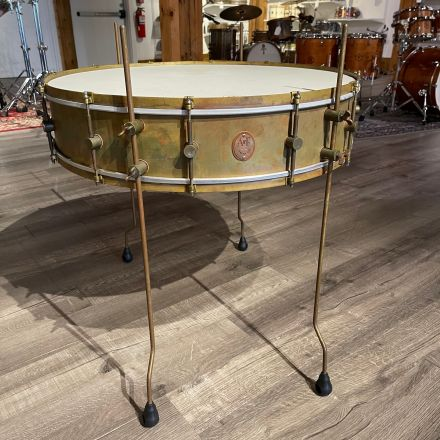 Used A&F Gong Snare Drum 28x6 w/Legs