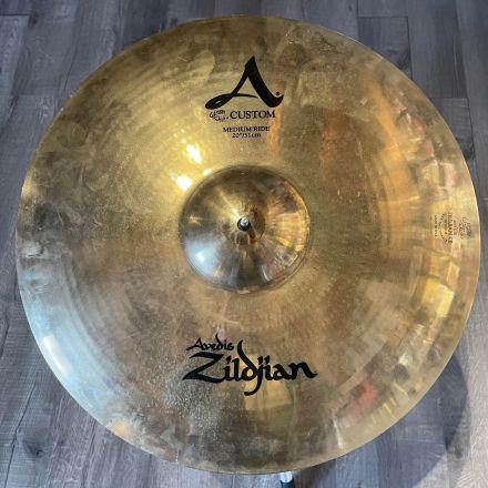 Used Zildjian A Custom Medium Ride Cymbal 20
