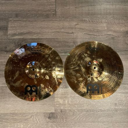 Used Meinl Soundcaster Custom Powerful Hi Hat Cymbals 14
