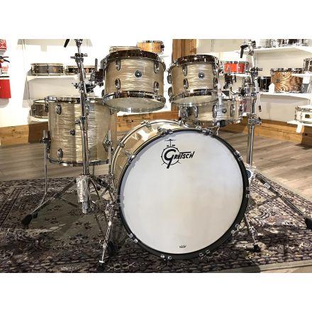 Gretsch Brooklyn 5pc Euro Drum Set Creme Oyster