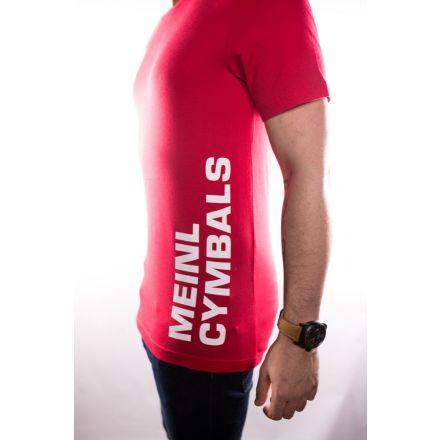 Meinl Cymbals T-shirt - Red - Medium