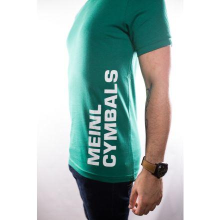 Meinl Cymbals T-shirt - Green - Medium