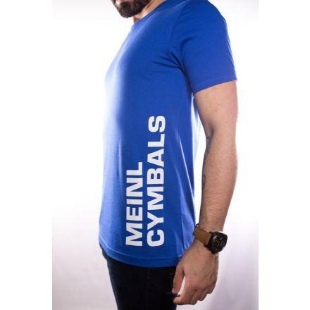 Meinl Cymbals T-shirt - Blue - Large