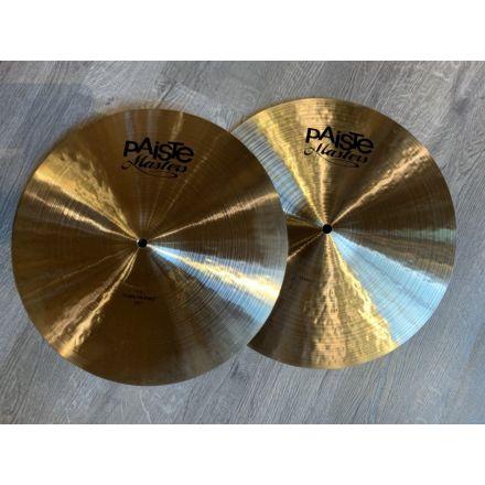 Paiste Masters 16 Thin Hi Hat Cymbals DEMO MODEL