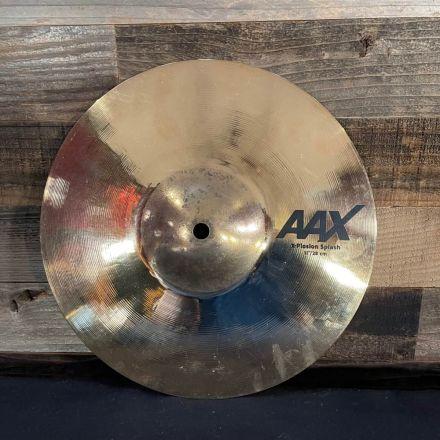 Used Sabain AAX X-Plosion Splash Cymbal Brilliant 11