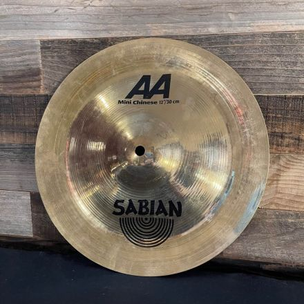 Used Sabian AA Mini Chinese 12