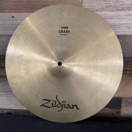 Used Zildjian A Thin Crash Cymbal 16