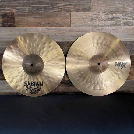 Sabian HHX Power Hi Hat Cymbals 14 DEMO MODEL