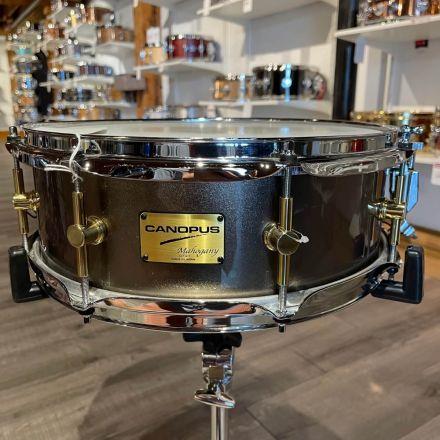 Used Canopus Mahogany Snare Drum 14x5