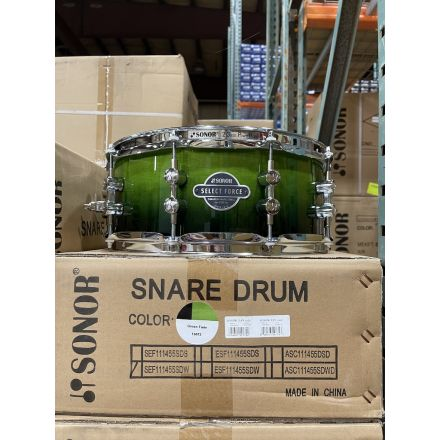 Sonor Select Force Snare Drum - 14x5.5 - Green Fade - Blowout Deal!