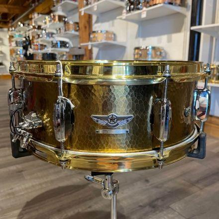 Tama Star Reserve Hand Hammered Brass Snare Drum DEMO MODEL