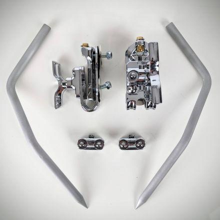INDe Drum Labs USBR26 Ultralight Spur With BR2 Base -6 Inch Length