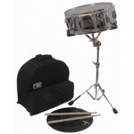 CB Percussion : Deluxe Backpack Snare Drum Kit