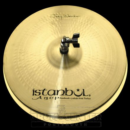 "Istanbul Agop Joey Waronker Hi Hat Cymbals 14"""
