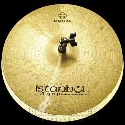 "Istanbul Agop Mantra Hi Hat Cymbals 15"" 870/1193 grams"