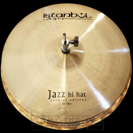 "Istanbul Agop Special Edition Jazz Hi Hat Cymbals 15"""