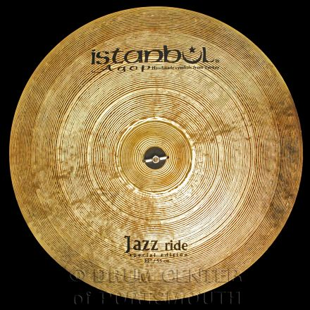 """Istanbul Agop Special Edition Jazz Ride Cymbal 22"""" 2269 grams"""