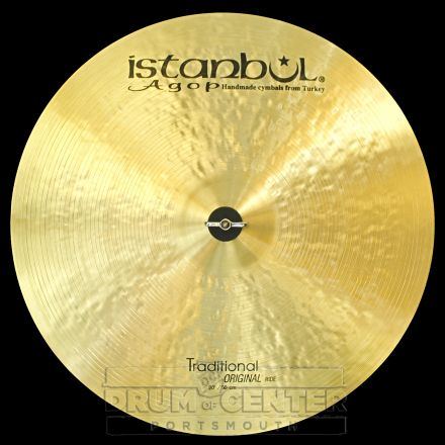 "Istanbul Agop Traditional Original Ride Cymbal 20"" 1861 grams"