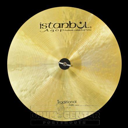 "Istanbul Agop Traditional Thin Crash Cymbal 16"" 927 grams"