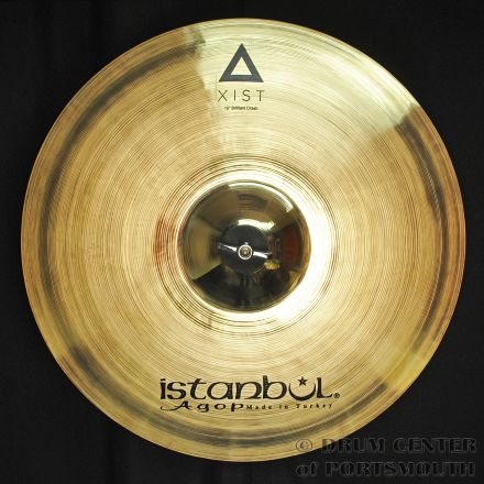 "Istanbul Agop Xist Brilliant Crash Cymbal 15"""