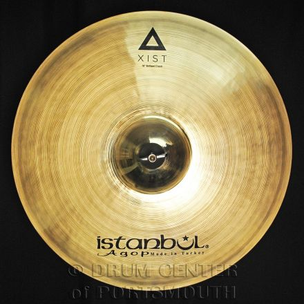 "Istanbul Agop Xist Brilliant Crash Cymbal 18"""