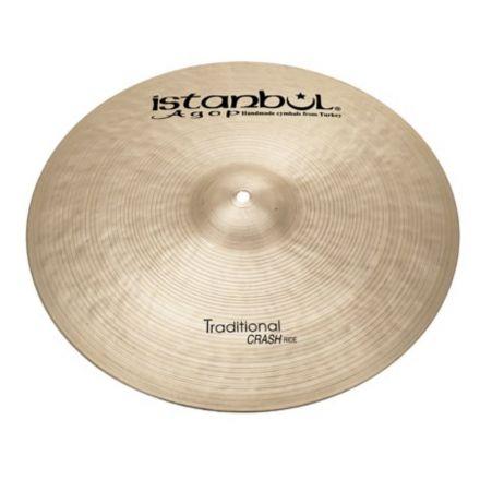 "Istanbul Agop Traditional Crash Ride Cymbal 22"" 2456 grams"