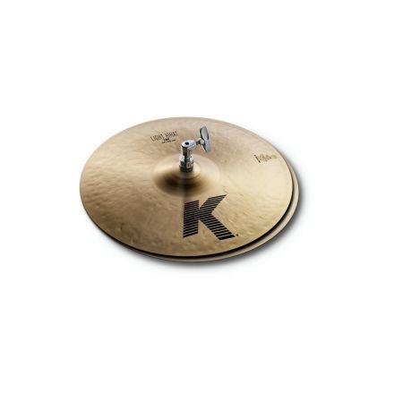"Zildjian K Light Hi Hat Cymbals 14"""