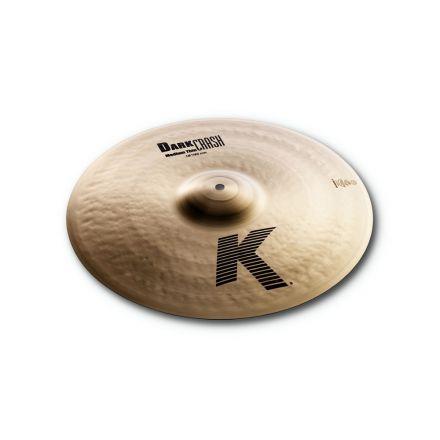 "Zildjian K Dark Crash Med Thin Cymbal 18"""