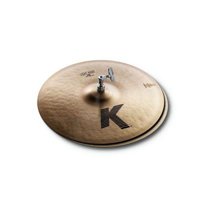 "Zildjian K Light Hi Hat Cymbals 15"""