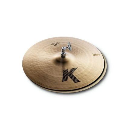 """Zildjian K Zildjian Light Hi Hat Cymbals 16"""""""