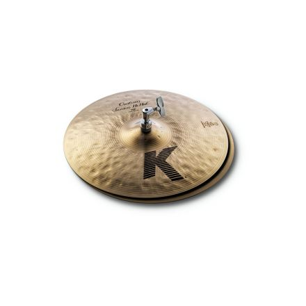 "Zildjian K Custom Session Hi Hat Cymbals 14"""