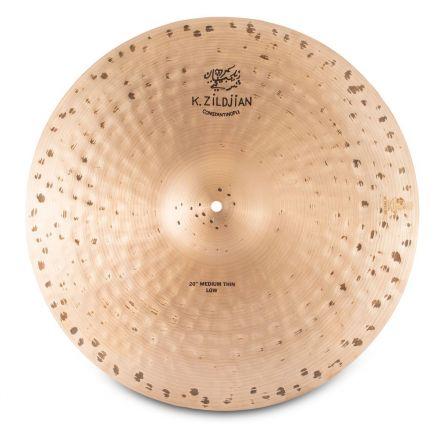 "Zildjian K Constantinople Medium Thin Low Ride Cymbal 20"" 1826 grams"