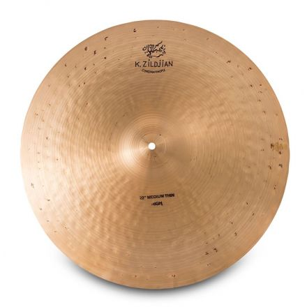 "Zildjian K Constantinople Medium Thin High Ride Cymbal 22"" 2534 grams"