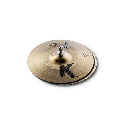 "Zildjian K Custom Hybrid Hi Hat Cymbals 13.25"""